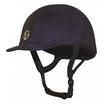 Gatehouse Jeunesse Glitter Riding Hat Navy 54cm - 55cm