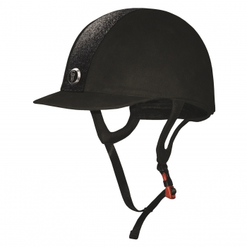 Gatehouse Jeunesse Glitter Riding Hat Black