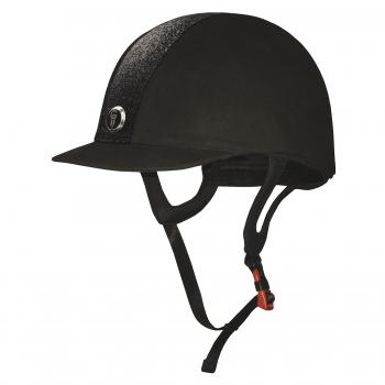 Gatehouse Jeunesse Glitter Riding Hat Black