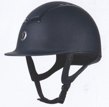 GATEHOUSE CIANA RIDING HAT MATT/MATT BLACK 56-60CM