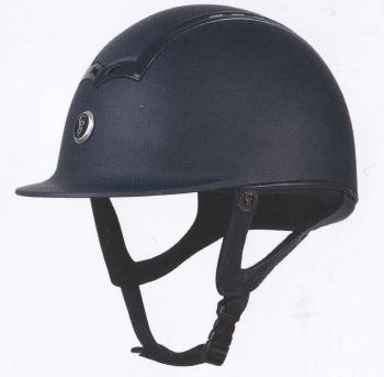 GATEHOUSE CIANA RIDING HAT MATT/MATT BLACK 56-60CM