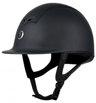 GATEHOUSE CIANA RIDING HAT MATT/MATT BLACK 54-55CM