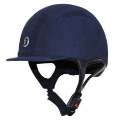 Gatehouse Challenger Riding Hat Suede Navy M-XL *Clearance*