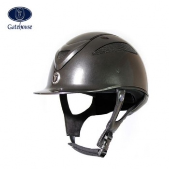 Special Offer Gatehouse Conquest MK2 Riding Hat Black Metallic 55cm