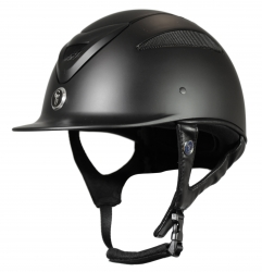 Gatehouse Conquest MK2 Riding Hat Black Metallic 54-55cm