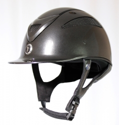 Gatehouse Conquest MK2 Riding Hat Black Metallic 56-60cm