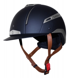 Gatehouse Volare Riding Hat Navy and Silver 52-55cm