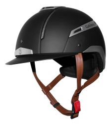 Gatehouse Volare Riding Hat Black and Silver 56-61cm