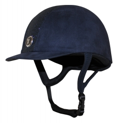 Gatehouse Jeunesse Glitter Riding Hat Navy