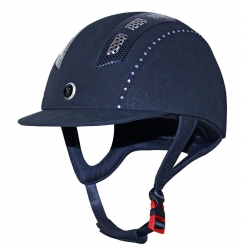 Gatehouse Chelsea Air Flow Pro Suedette Crystal Navy 54-55cm
