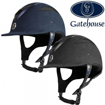 Gatehouse Conquest MK 2 Riding Hat Suedette Crystal 56cm-63cm