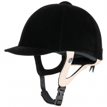 Gatehouse Jeunesse Leather Riding Hat 56-61cm