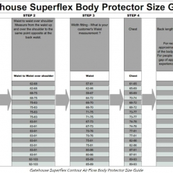 Gatehouse Body Protector Superflex Contour Air Flow Adult
